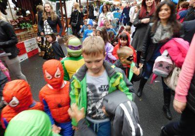 Дечији маскембал – Увод у званично отварање Опленачке бербе