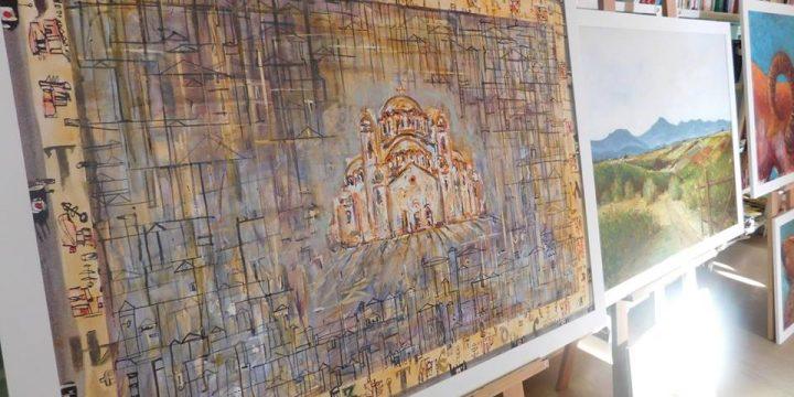Изложба радова колоније у Липовцу